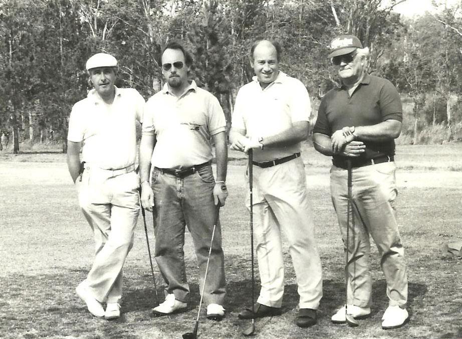 Osvaldo Perilli, Esteban Eduardo Caprarulo, Rafael Bordoli y Alan Ross